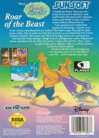 Beauty and the Beast: Roar of the Beast Box Art