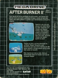 After Burner II Box Art