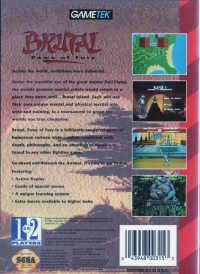 Brutal: Paws of Fury Box Art