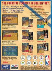 Bulls vs Lakers and the NBA Playoffs Box Art