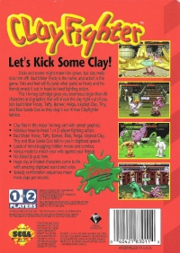 ClayFighter Box Art