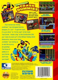 Incredible Crash Dummies, The Box Art
