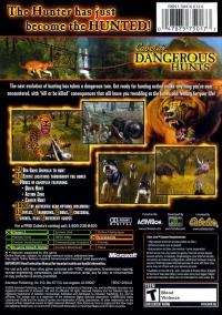 Cabela's Dangerous Hunts - Platinum Hits Box Art