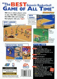 NBA Live 97 Box Art