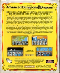 Advanced Dungeons & Dragons: Dragons of Flame Box Art