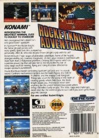 Rocket Knight Adventures Box Art