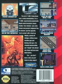 Terminator 2: Judgment Day Box Art