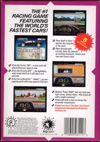 Duel, The: Test Drive II (licensed cart) Box Art