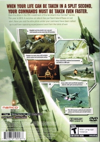 Ace Combat 5: The Unsung War Box Art