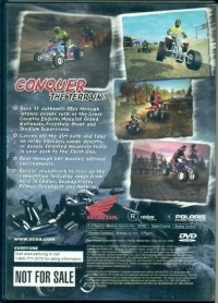 ATV Offroad Fury (Not for Sale) Box Art