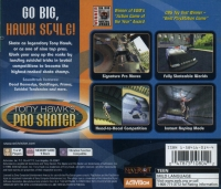 Tony Hawk's Pro Skater - Greatest Hits Box Art