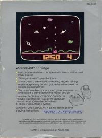 Astroblast (Black Label) Box Art