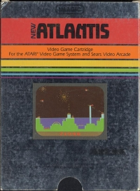 Atlantis (Picture Label - Night Scene) Box Art