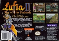 Lufia II: Rise of the Sinistrals Box Art