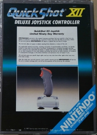 Spectravideo QuickShot XII: Deluxe Joystick Controller Box Art