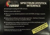 Ram Turbo Spectrum Joystick Interface Box Art