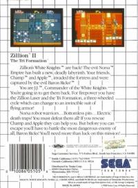 Zillion II: The Tri Formation Box Art