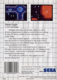 Blade Eagle 3-D Box Art