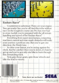 Enduro Racer Box Art
