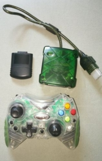 intec mini wireless xbox controller xbox accessory vgcollect rh vgcollect com Tight a PS2 Wireless Controller Intec Controller for PS3