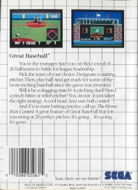Great Baseball (Made in Japan) Box Art