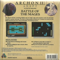 Archon II: Adept [UK] Box Art