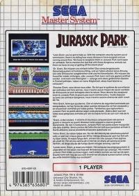 Jurassic Park Box Art