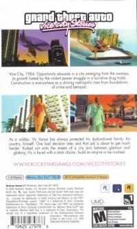 Grand Theft Auto: Vice City Stories Box Art