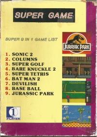 9 in 1 super game Box Art