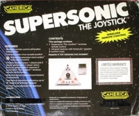 Camerica Supersonic The Joystick Box Art