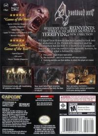 Resident Evil 4 - Player's Choice Box Art