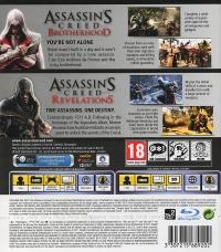 Assassin's Creed: Brotherhood & Revelations [DK][FI][NO][SE] Box Art