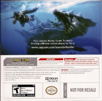 Monster Hunter Tri - Demo Disc (GameStop) Box Art
