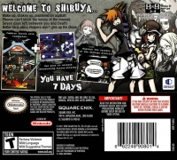 World Ends With You, The Box Art