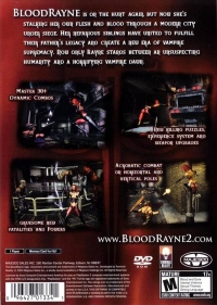 BloodRayne 2 Box Art