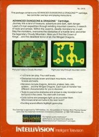 Advanced Dungeons & Dragons (white label) Box Art