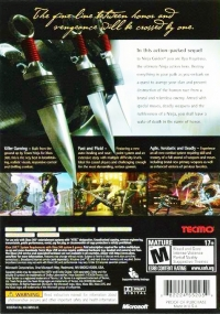 Ninja Gaiden II Box Art