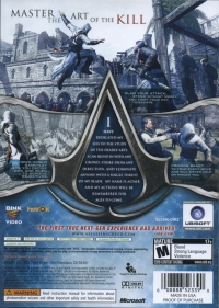Assassin's Creed - Platinum Hits Box Art