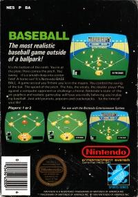 Baseball (5 screw cartridge) Box Art