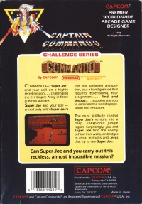 Commando (5 screw cartridge) Box Art