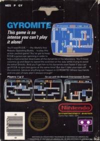 Gyromite (3 screw cartridge) Box Art