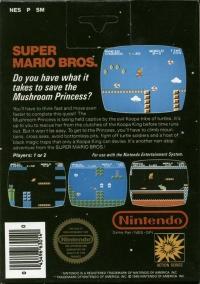 Super Mario Bros.  (5 screw cartridge) Box Art