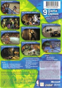 Exhibition Demo Disc: Volume 4 Box Art