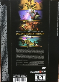 Jak & Daxter: Complete Trilogy Movie DVD (Limited Edition) Box Art