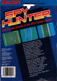 Spy Hunter (5 screw cartridge) Box Art