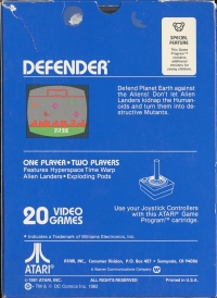 Defender Box Art
