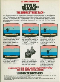 Star Wars: The Empire Strikes Back Box Art