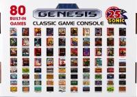 AtGames Sega Genesis Classic Game Console (25th Sonic) Box Art
