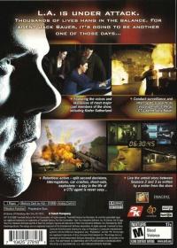 24: The Game Box Art