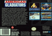 American Gladiators Box Art
